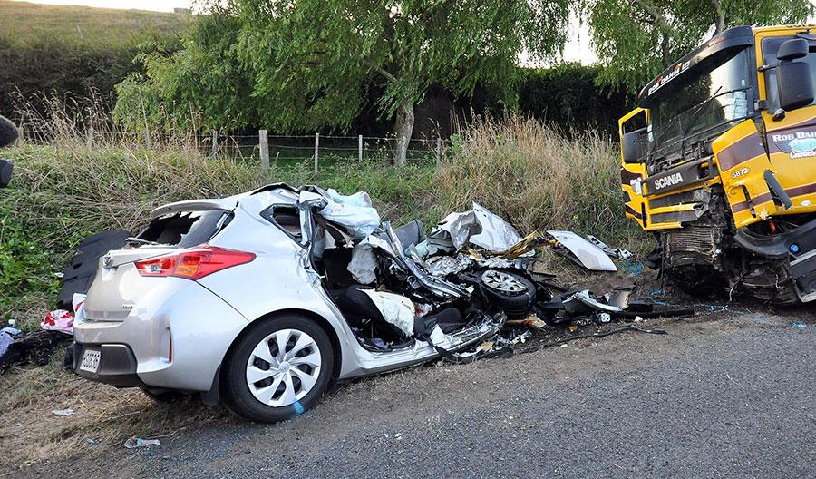 รถอุบัติเหตุ